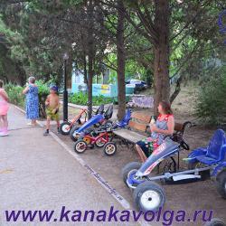 Развлечения для детей в Канаке (Канакской балке). Пансионаты Волга, Каспий, ВОЛНА Поднебесная.