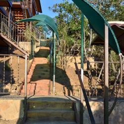 ВОЛНА Поднебесная. Центральная лестница. Канакская балка (Канака)