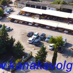 Охраняемая стоянка автомобилей для гостей пансионатов Волга, ВОЛНА Поднебесная, Каспий, Баракат.