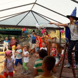 ВОЛНА Поднебесная. Персонажи детских праздников, проводимых на ВОЛНЕ. Канакская балка (Канака)